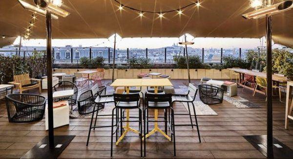 Terrasse Toit Paris Bar : 17 Best ideas about Bar Terrasse Paris on Pinterest