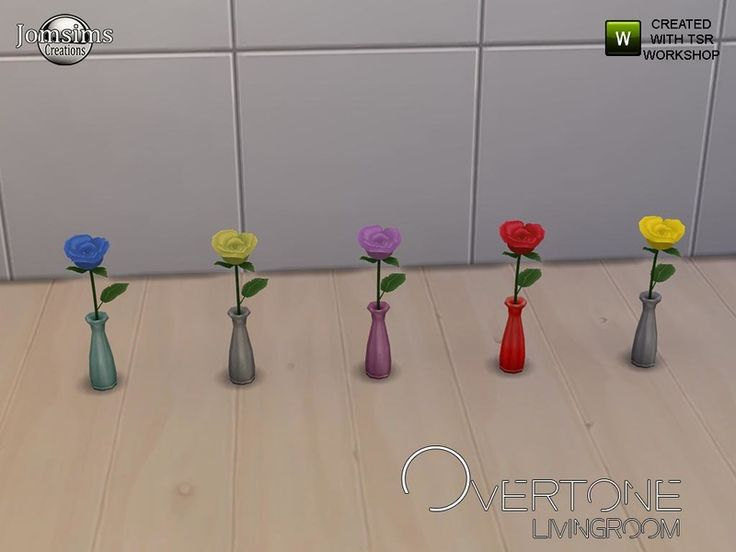 Overtone roses  Found in TSR Category 'Sims 4 Plants'