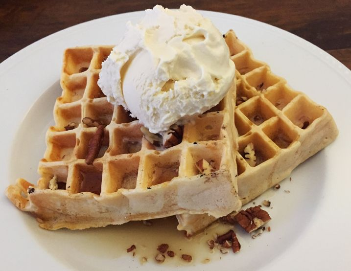 Alton Brown's Sweet Potato Waffle Recipe. Now I just need a waffle iron