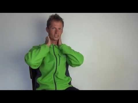 Masáž na uvolnění hlavy a uklidnění nervové soustavy. — Čínská cvičení a medicína