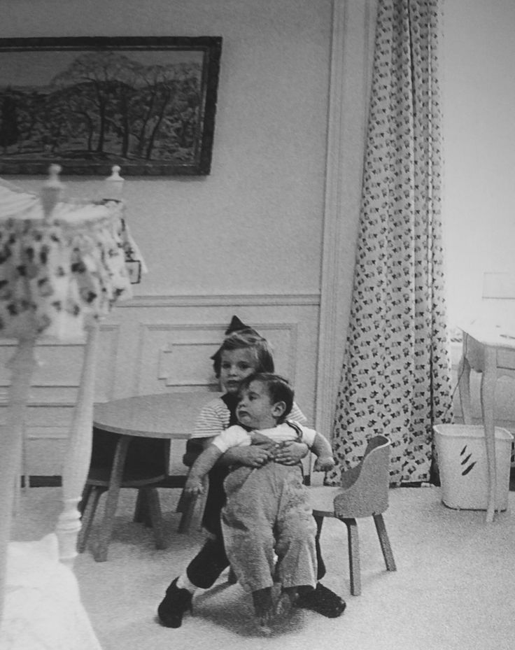 The Kennedys - kennedycamelot: Caroline and John Kennedy in the...