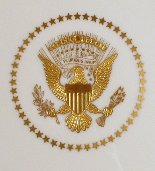 Official White House Letterhead Presidential seal truman white