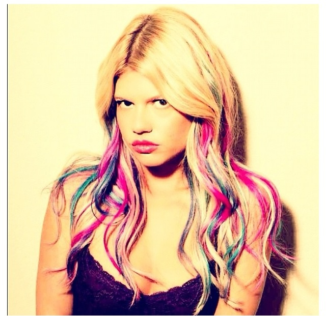 Chanel West Coast---love her & her brightness! Her hair is always perfect!