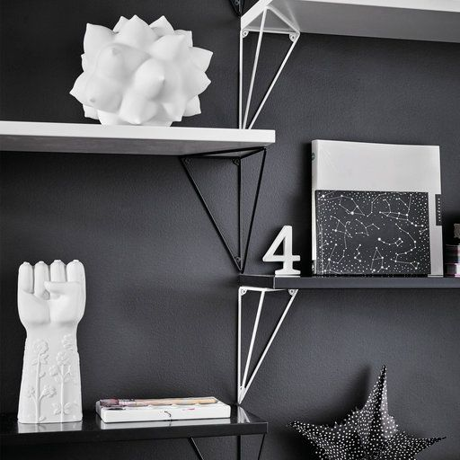 Konsoler Pythagoras 2-pack, Svart - Möbler- Köp online på åhlens.se!