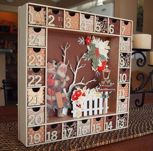 Веселый декабрьский календарь для детей