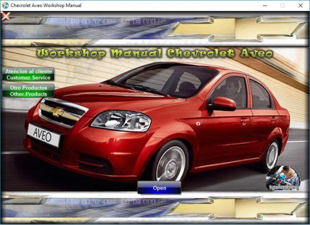 Manual De Taller Y Reparacion Profesional Chevrolet Spark M300 2010
