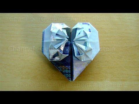 die besten 25 herz aus geldschein falten ideen auf pinterest klappen hochzeit origami herzen. Black Bedroom Furniture Sets. Home Design Ideas