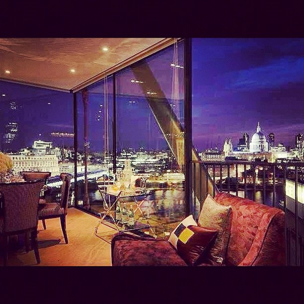The View From My Apartment Last Night. #london #skyline ...