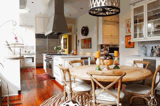Эклектичная кухня   Sweet home