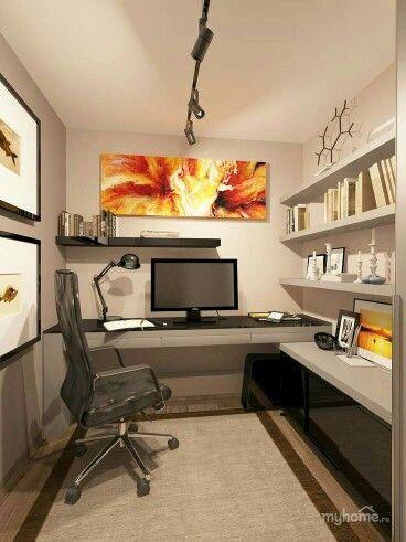17 best ideas about basement home office on pinterest. Black Bedroom Furniture Sets. Home Design Ideas