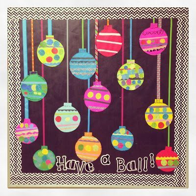 First Grade Blue Skies: Easy Ornament Bulletin Board Freebie and Blend Friends Update!