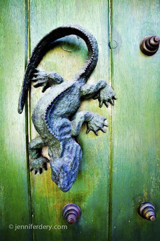 Cartagena has the best door knockers