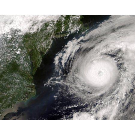 Hurricane Alex Canvas Art - Stocktrek Images (31 x 24)