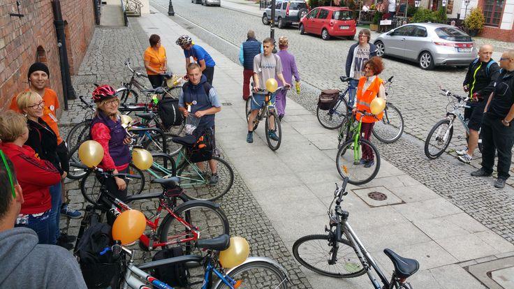 Rajd rowerowy Odjazdowy Bibliotekarz 2016