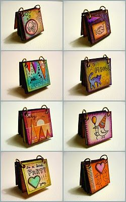 "inchies book what a cute idea! From ""Ooops i craft my pants"" blog (LOVE that…"