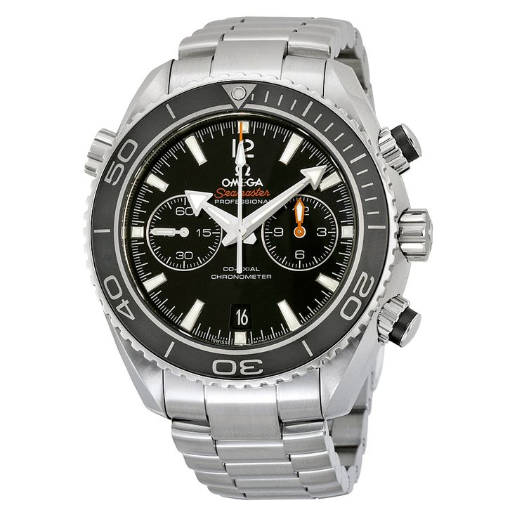 Omega Seamaster Planet Ocean Black Dial Stainless Steel Men's Watch 232.30.46.51.01.001 - Seamaster Planet Ocean - Omega - Shop Watches by Brand - Jomashop