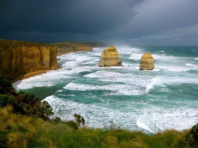 The spectacular Great Ocean Road
