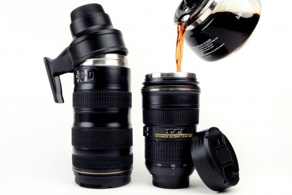 I have the one on the right.. coolest coffee cup ever :): Travel Mugs, Photos Gifts, Memorial Cups, Gifts Ideas, Nikon Camera, Memorial Mugs, Father Day Gifts, Camera Lens, Coffee Mugs
