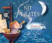 La nit dels pirates, pop-up de Peter Harris, il·lustradora Deborah Allwright. Combel ed. A partir de 3 anys