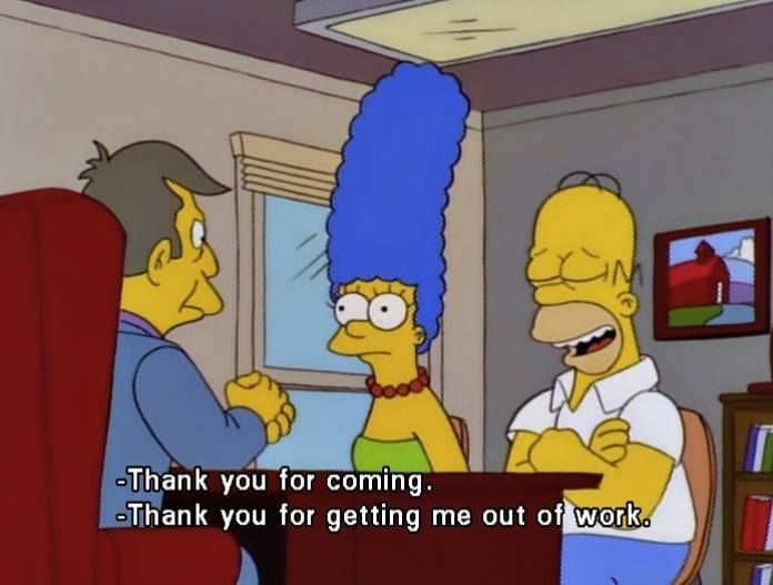 It's nice to get away from work! #homersimpson #thesimpsons