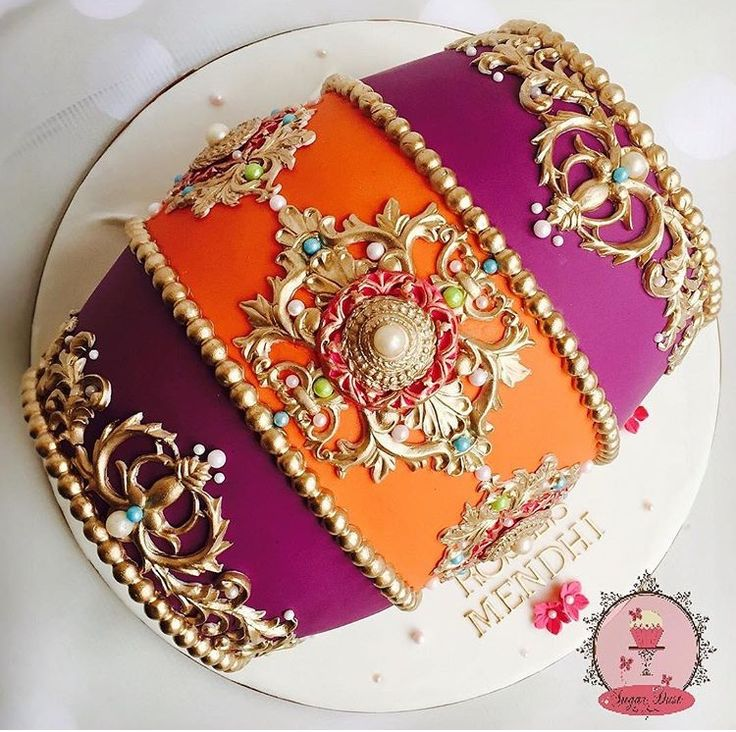 Dhol Cake Toppers