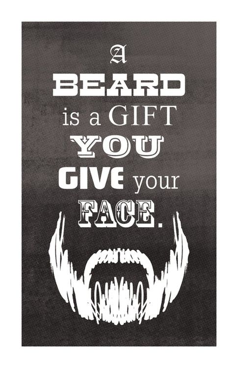 Love beards.