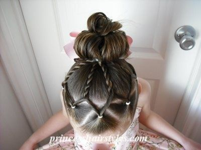 Beautiful hair style for girls