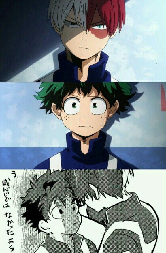 Boku no Hero Academia || Todoroki Shouto, Midoriya Izuku ...