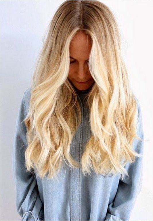 bright ombre. #fashion #hair