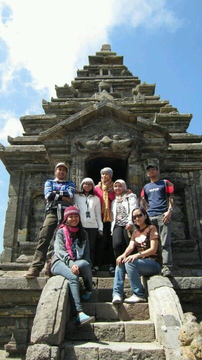 Here, i'm at Arjuna Tempel Dieng Plateu #Indonesia
