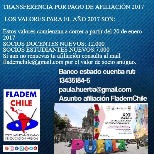 Hola y gracias por seguirnos. Te invitamos a conocer más sobre FLADEM CHILE https://goo.gl/P4LlZg @flademchile #flademchile