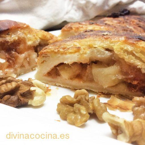 Strudel de manzana » DIVINA COCINARecetas fáciles. Cocina andaluza y del mundo. » DIVINA COCINA