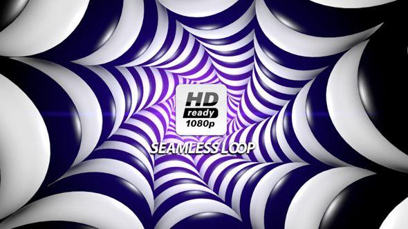 3D Hypnotic Spirals