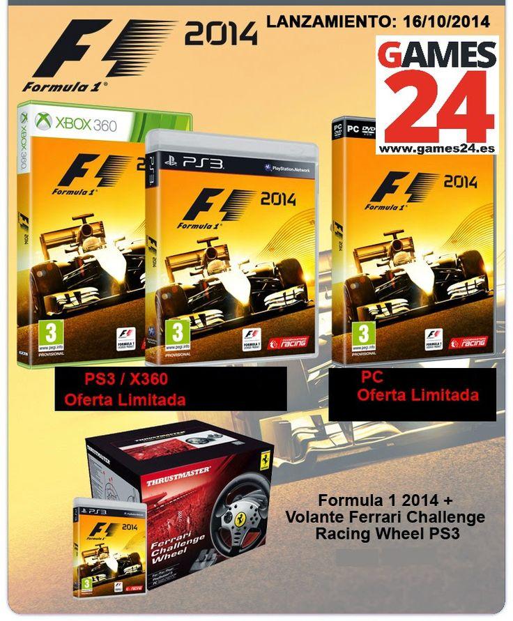 Games24: Formula 1 2014, Borderlands, La Voz volumen 2, The Walking Dead, ...