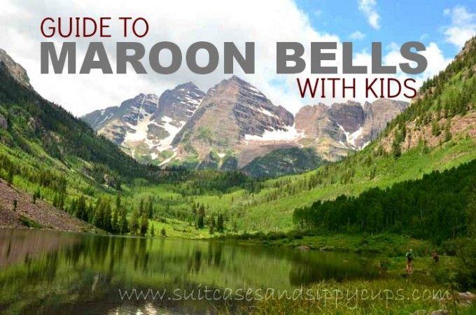 maroon bells with kids