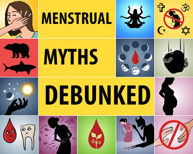 Menstrual myths are still a commonplace in many societies today and have prop …
