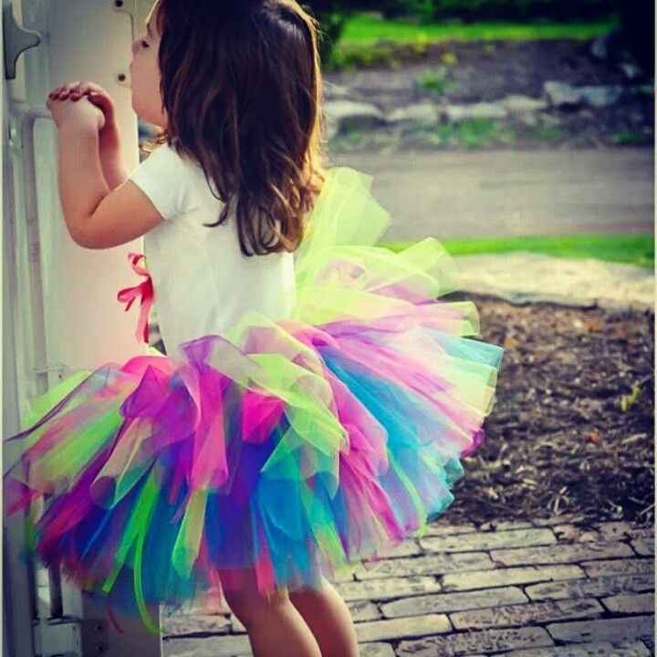 Color Run Tutu .. we make them !