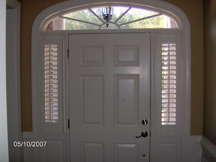 Sidelight Shutters48 best sidelight images on Pinterest   Frosted glass  Frosted  . Entry Door Sidelight Curtains. Home Design Ideas