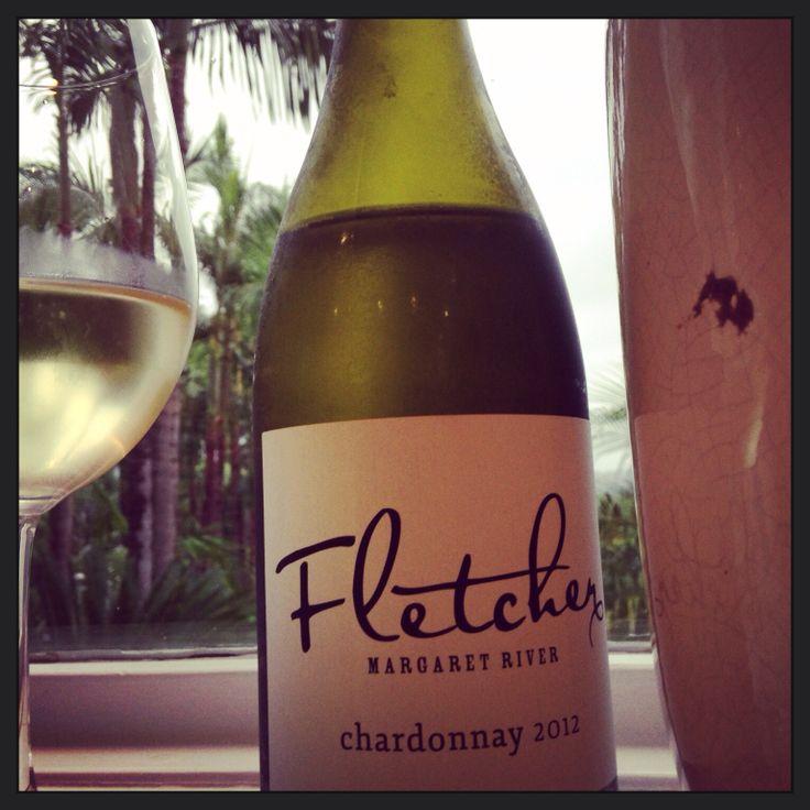 Fletcher Chardonnay - Monday night relax hour!