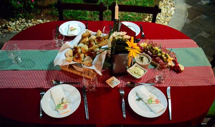 Italian Dinner Table Decoration Italian Party Ideas