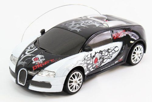 1:24 Scale Full Function Graffiti EXTREME DRIFT RC Bugatti Drifting Car Remote Control by RC Drift Car / Remote Control Drift Car. $33.99. Electric Powered, Head and Tail Lights, Under Body Lights, 4 Drift Plastic Tires, 4 Spare Rubber Tires.
