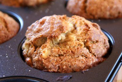 Banana Pear Muffins  very good recipe...I substituted 1/4 cup of buckwheat pancake mix and 1 1/4 c flour