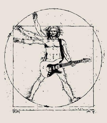Jammin' on the guitar, da Vinci Style                                                                                                                                                      Mais