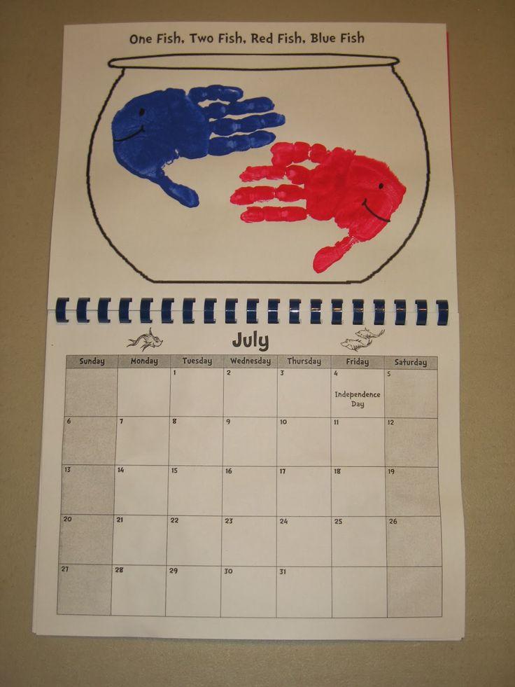 Kindergarten Calendar Flip Chart : Best images about monthly handprint book on pinterest
