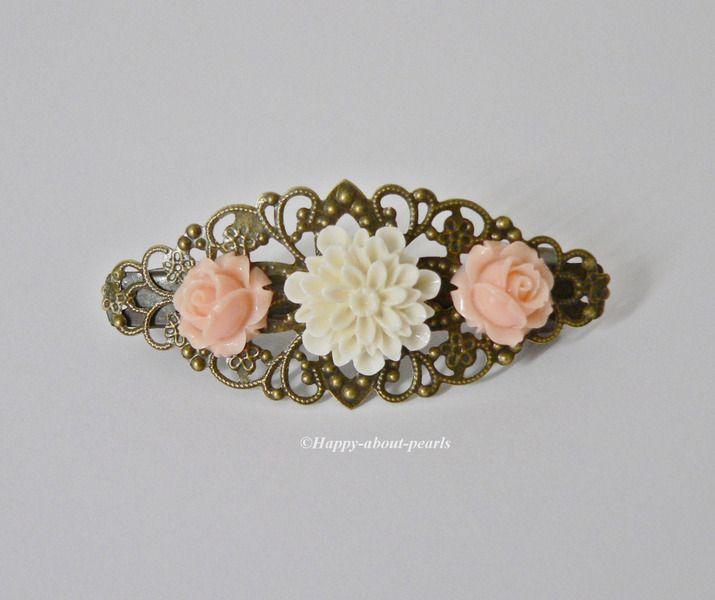 Haarspange von Happy-about- Pearls auf DaWanda.com