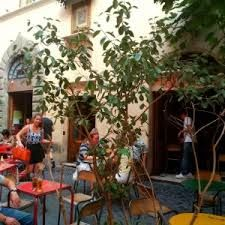 Bar del Fico - Via della Pace/Piazza del Fico Rome -  Enjoy a #cappuccino or an #aperitif seating under a beautiful #fig #tree while playing #chess. With #TravelPass 5% off on #restaurant #menu or #free #table #service at the #bar. http://www.bardelfico.com/en/restaurant/about/