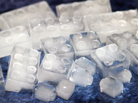 Link to awesome ice cube trays.  Totally want the alphabet one and the lego one.  The kids love yogurt frozen in ice cube shapes - they would love those!