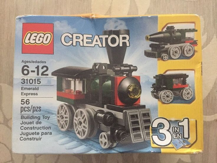 New LEGO 31015 CREATOR Emerald Express 3 in 1 Holiday Train Retired