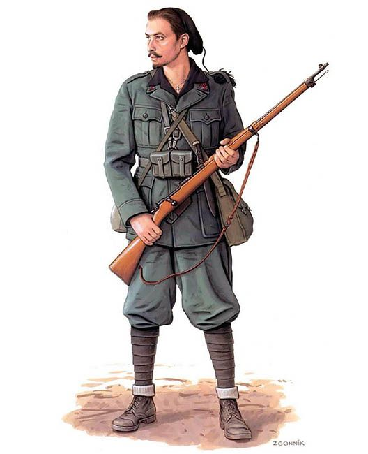 Militiaman, 34th M Battalion 'Savona', Russia, 1942