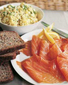 Barefoot Contessa - Recipes - Smoked Salmon & Egg Salad Tartines